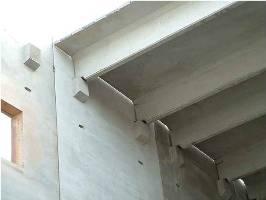 Precast Construction Front Desk Architects