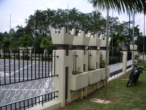 Park Boundary Wall Design : Boundary wall designs singapore