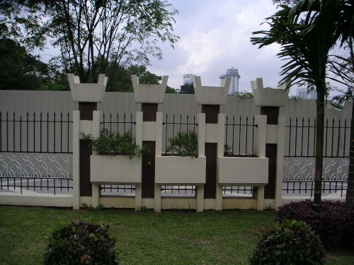 Boundary wall designs singapore