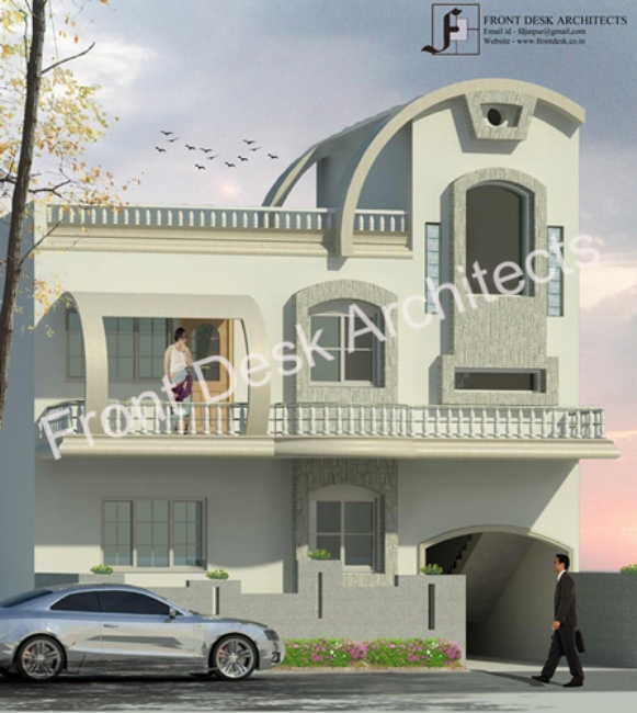 Kothi Construction Services: Front Desk Architects In Jaipur